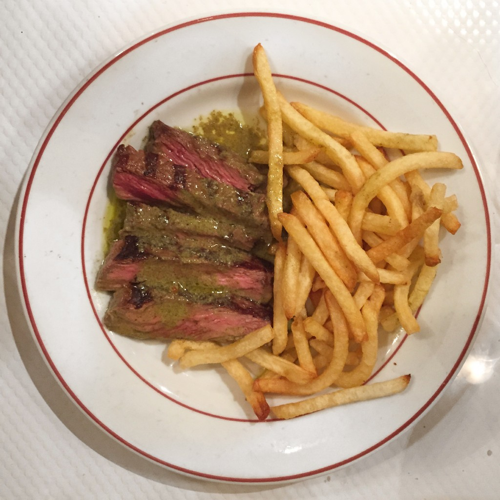 BEST DISH IN THE WORLD- L'entrecote